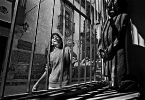 Woman Outside Window, San Miguel de Allende, 1995