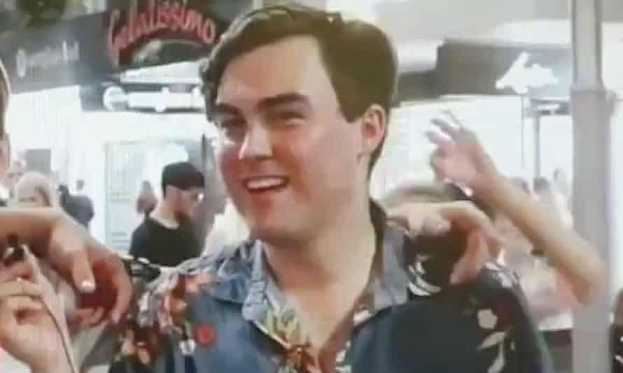 Barclay McGain, chairman of the Gold Coast Young LNP, has been suspended by the party over a video taken at Schoolies