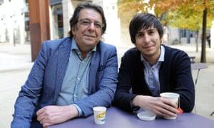 Ziad Najm and his son Tarek