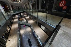 Inside the Emporium retail complex in Melbourne on Monday.