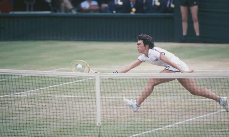'Always looking to attack rather than defend': Billie Jean King in 1972