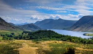 The view from Brackenthwaite Hows towards Crummock Water and Buttermere that inspired JMW Turner.