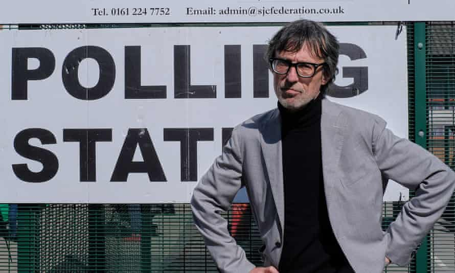 """Petros Diveris stands outside his polling station. He was turned away from what he describes as """"the most important vote of my life""""."""