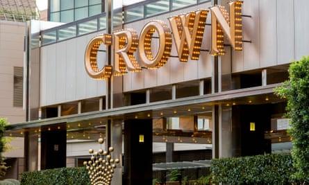 FIle photo of Crown casino in Melbourne