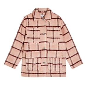Pink check, £65, topshop.com.