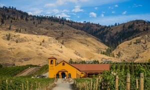 Adega on 45th Estate Winery and vineyard, Osoyoos, British Columbia, Canada