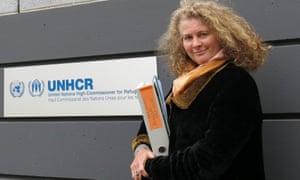 Former UN investigator Caroline Hunt-Matthes