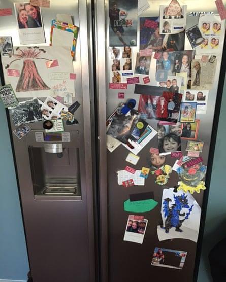 Jacqueline Chatfield's fridge