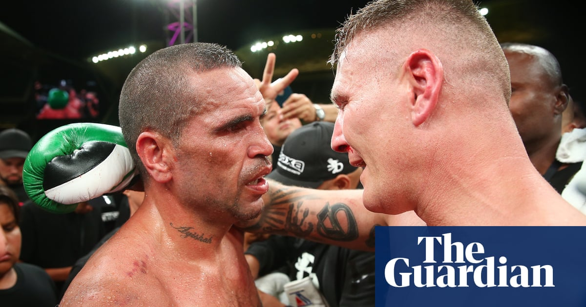 0f801f7147a Danny Green edges out Anthony Mundine in boxing grudge bout