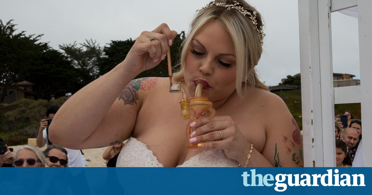 I toke thee to be my wife: inside a cannabis wedding in California