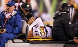 Ryan Shazier was injured at the start of December