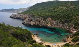 Cala d en Serra in Ibiza
