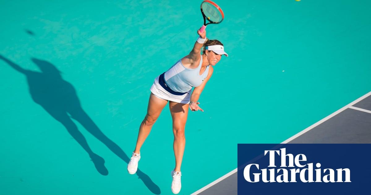 Is this still the first set? Abu Dhabi heat tests WTAs tennis stars on return