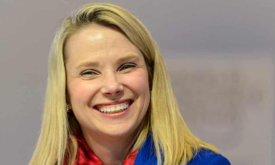 Marissa Mayer, Yahoo's chief executive