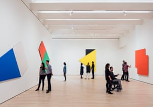 The Ellsworth Kelly room: flawlessly installed, deeply moving.