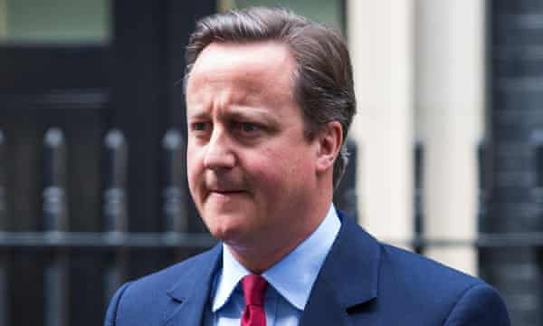 "David Cameron said he was stepping down as an MP to avoid being a ""distraction""."