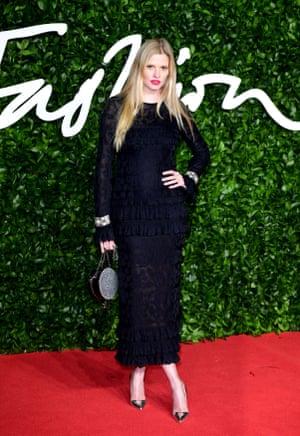 Former model of the year winner Lara Stone
