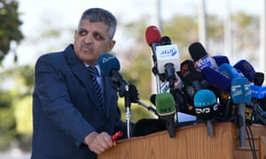 Osama Rabie, kepala Otoritas Terusan Suez Mesir