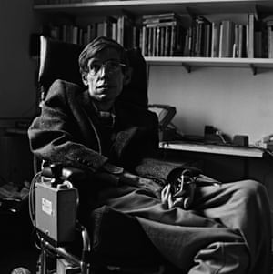 Stephen Hawking circa 1985.