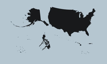 The Greater United States as it was in 1941.