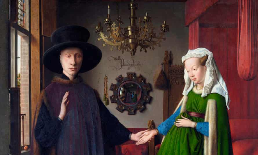 What's really going on in a 'relationship'? Giovanni Arnolfini and His Bride (The Arnolfini Marriage) by Jan Van Eyck