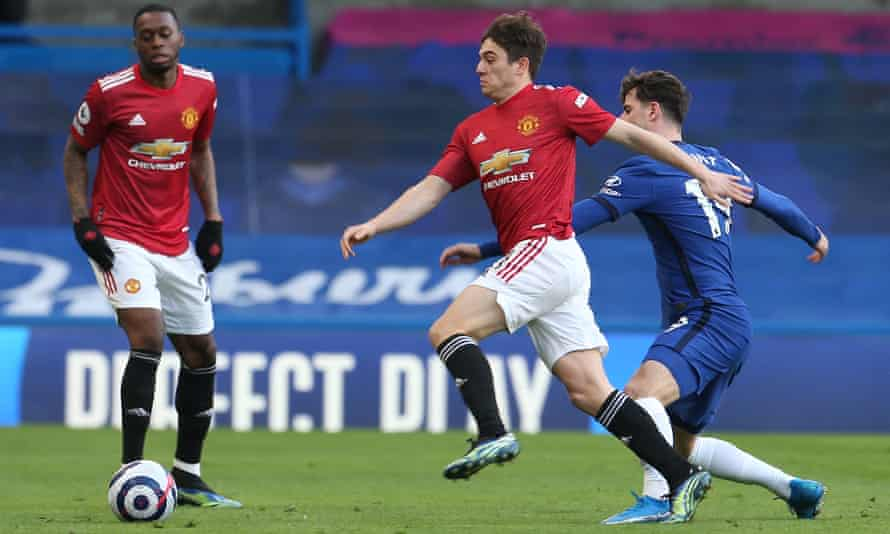 Daniel James's zealousness off the ball was a major factor why Chelsea were unable to offer much