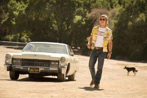 Brad Pitt as Cliff Booth.