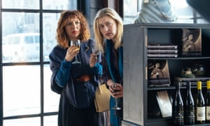 Gerwig with Maya Rudolph in Maggie's Plan.