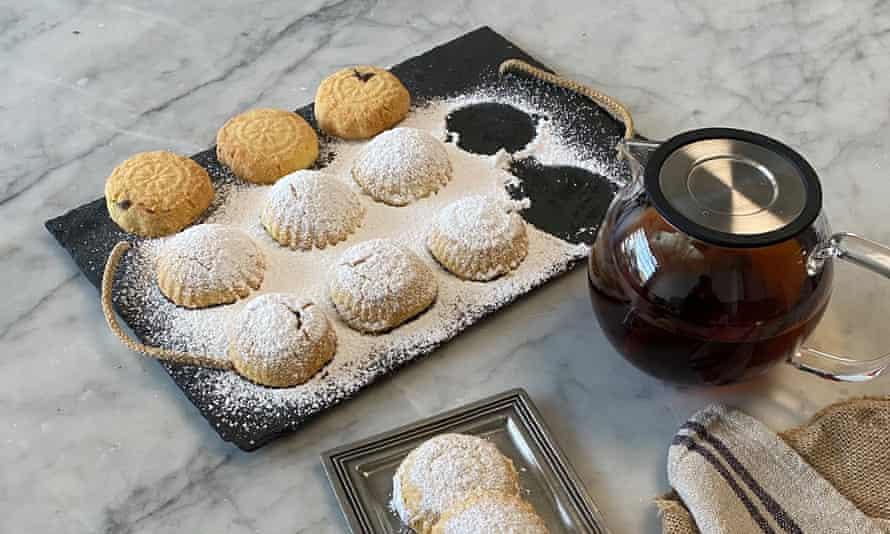 Fatima's Eid maamoul biscuits