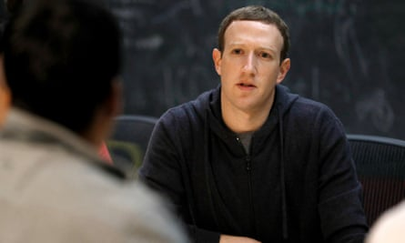 Mark Zuckerberg, CEO of Facebook, which is facing scrutiny over its sharing data practices.