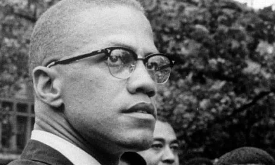 Malcolm X in 1963.