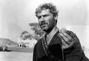 Gian Maria Volontè as the brutal El Indio in Sergio Leone's For a Few Dollars More