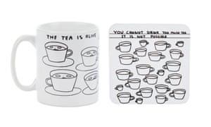 David Shrigley coaster, £3.50, and mug, £10, shop.tate.org