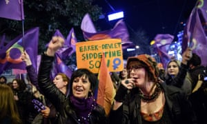 International Women's Day march in Istanbul