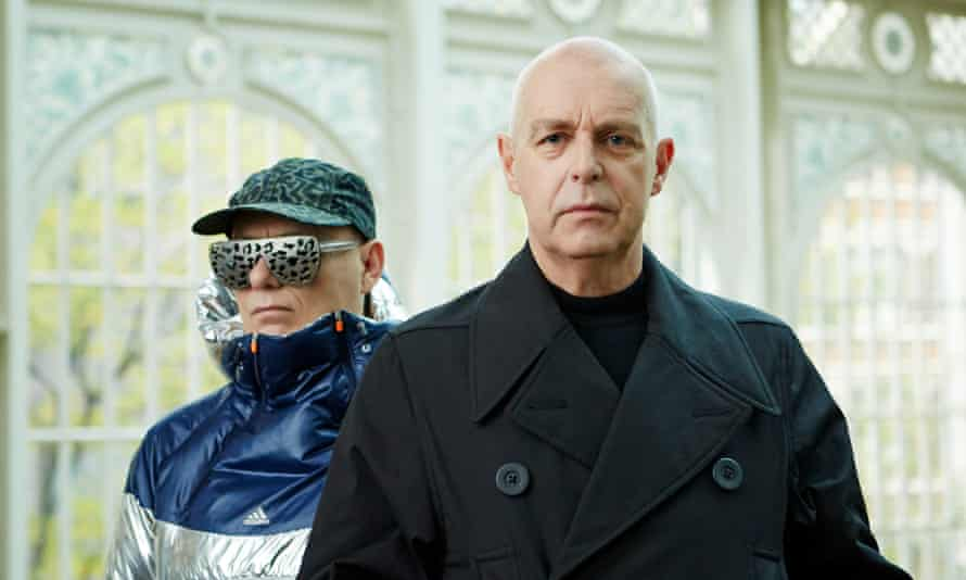 Pet Shop Boys Chris Lowe, left, and Neil Tennant.