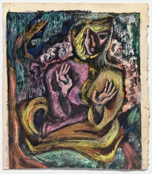 Self-Portrait in Semi-Abstract Style c. 1946-1952