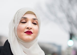 """Shehnaz Khan age 30 from New York """"I'm marching because Donald Trump doesn't realize how much he's endangering muslims with his rhetoric, and my name isn't Isis."""""""