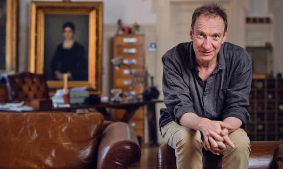 David Thewlis photographed at home in London last week.