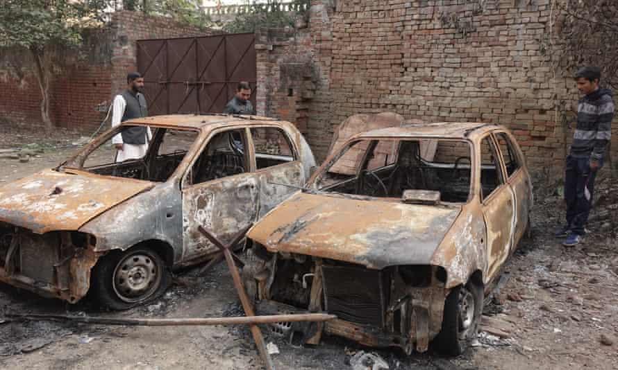 Cars of a Muslim politician were set ablaze inMuzaffarnagar on December 20.