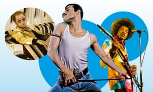 One vision? Rocketman, Bohemian Rhapsody and Jimi: All Is By My Side.