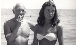 Picasso with a young woman named only as Nivea.