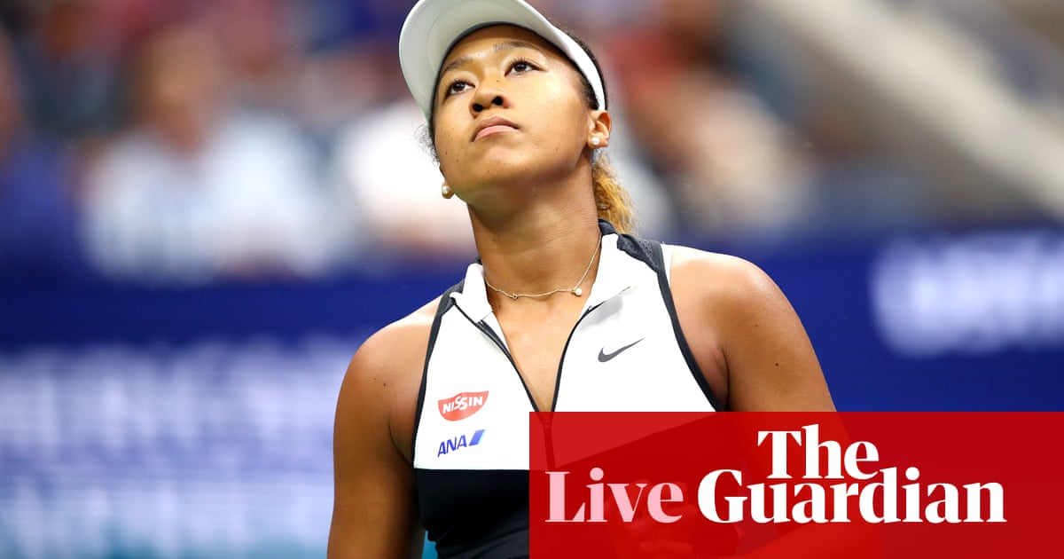 US Open 2019: Defending champion Naomi Osaka v Belinda Bencic and more on day eight –live!