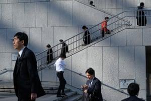 Tokyo – the salary men in Tokyo