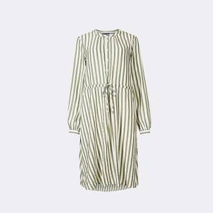 Khaki stripe, £29.50, marksandspencer.com