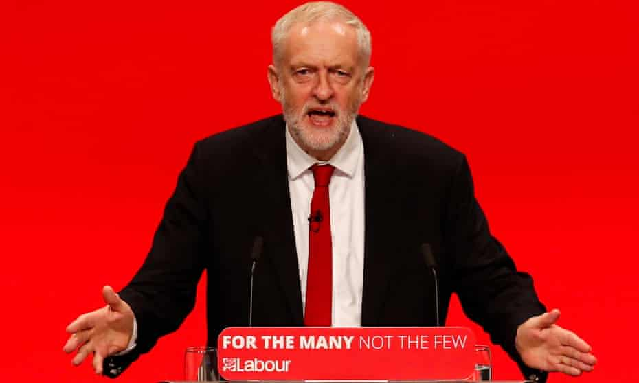 Jeremy Corbyn pledged to end Britain's 'failed model of capitalism' at the Labour party conference.