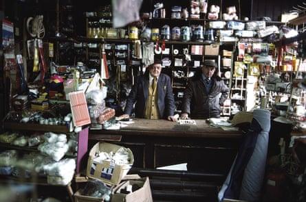 Haberdashery Shop, Manchester, 1976 by John Bulmer.