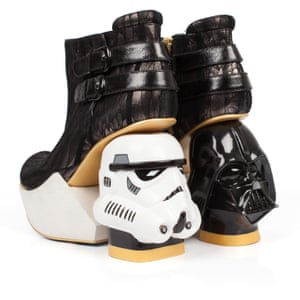 The Death Star boots, £275