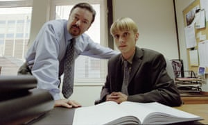 David Brent and Gareth Keenan from The Office. Would a robot boss be preferable?