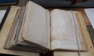 Original manuscript of Maxwell's seminal paper