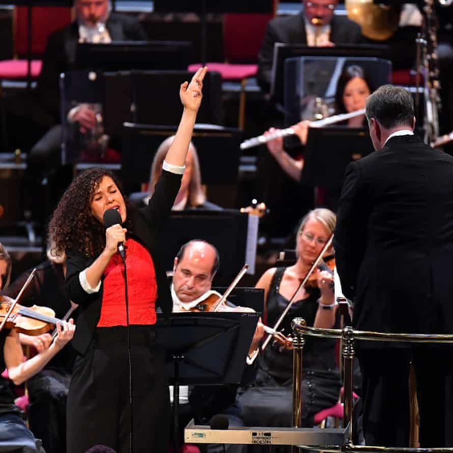 Nora Fischer performs Andriessen's The Only One at the 2019 Proms.